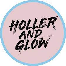 holler and glow logo