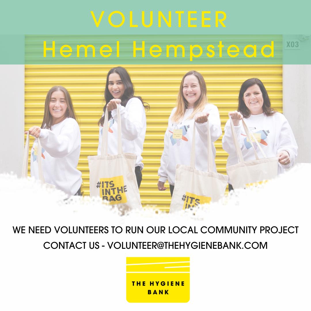Volunteer hemel