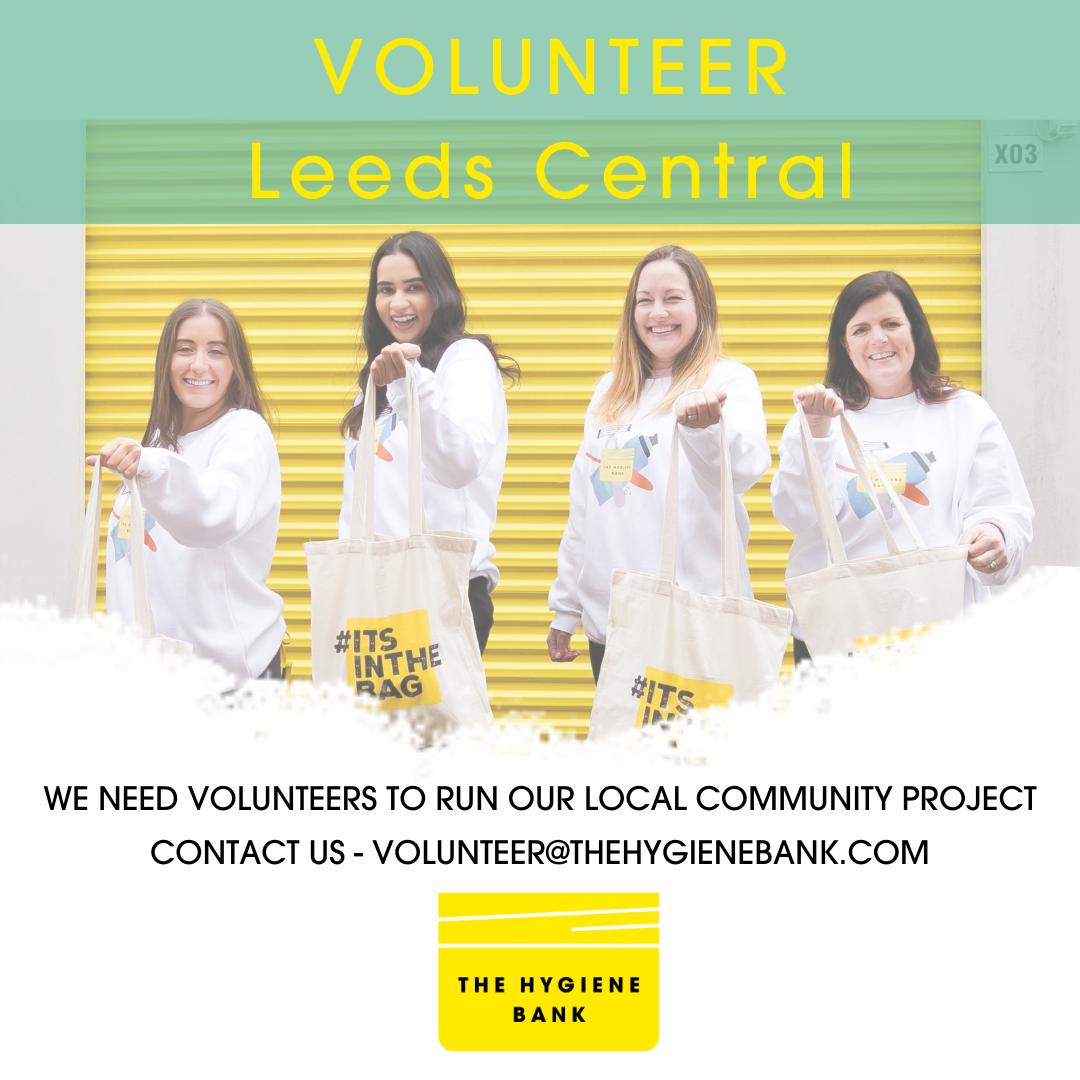 Volunteer leeds